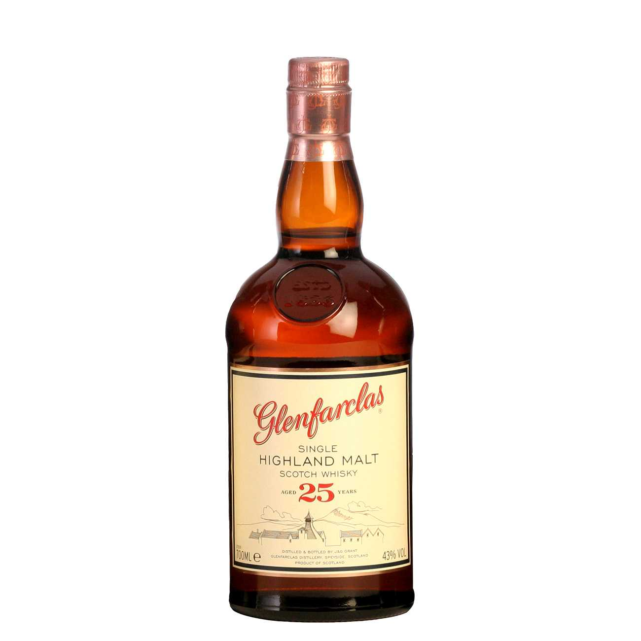 Whisky scotian, 25 YEAR OLD 700 ML, Glenfarclas