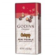 Godiva MILK CHOCOLATE CRISPY PEARLS 35 G Dropsuri si jeleuri