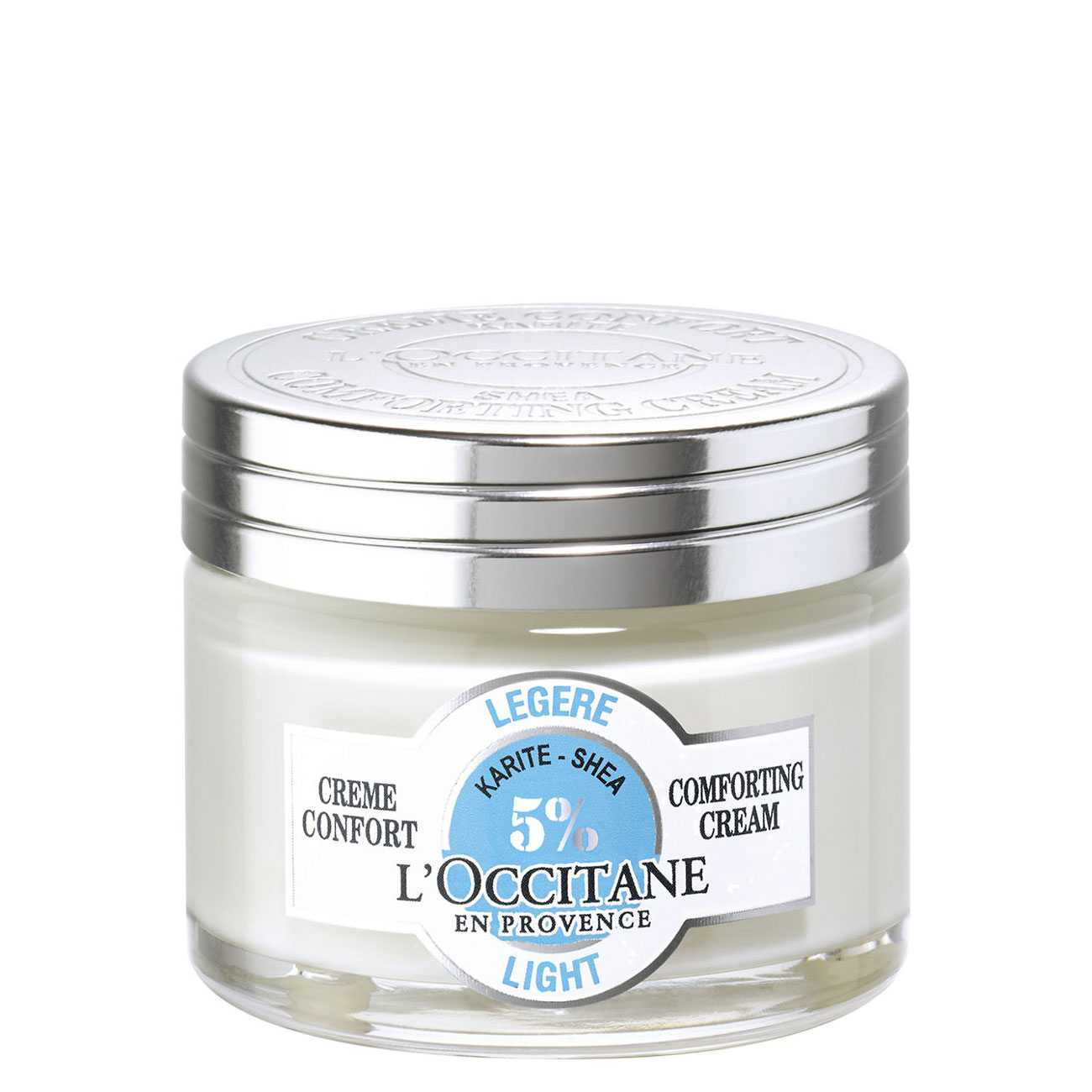 Shea Light Comforting Cream 50 Ml L'occitane imagine 2021 bestvalue.eu