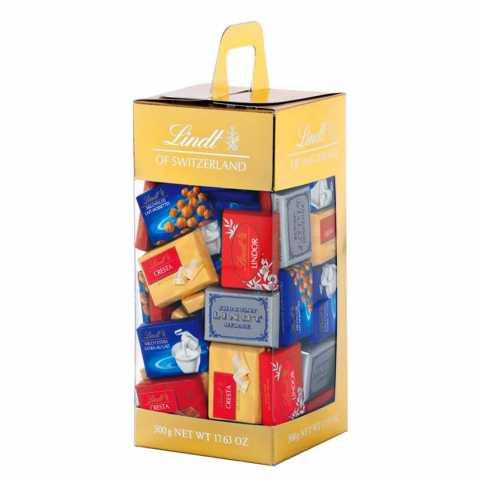 Lindt ASSORTED LARGE CARRIER BOX 500 G Tablete