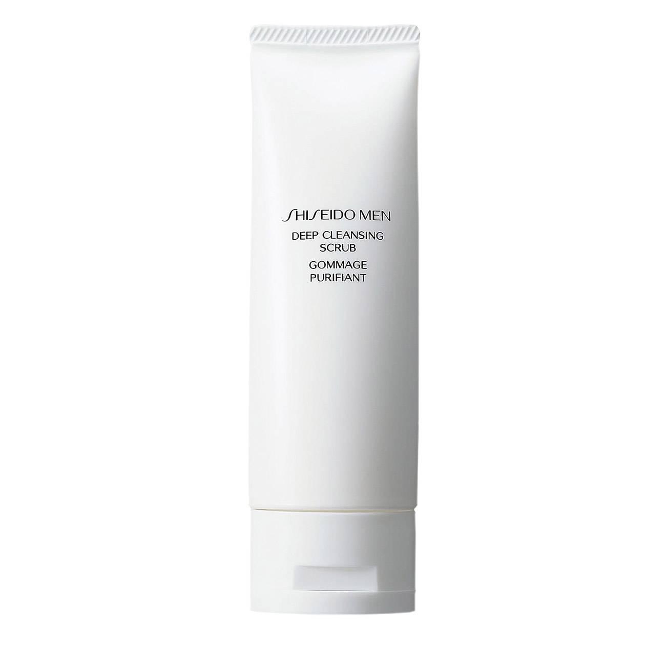 Men's Deep Cleasing Scrub 125ml Shiseido imagine 2021 bestvalue.eu