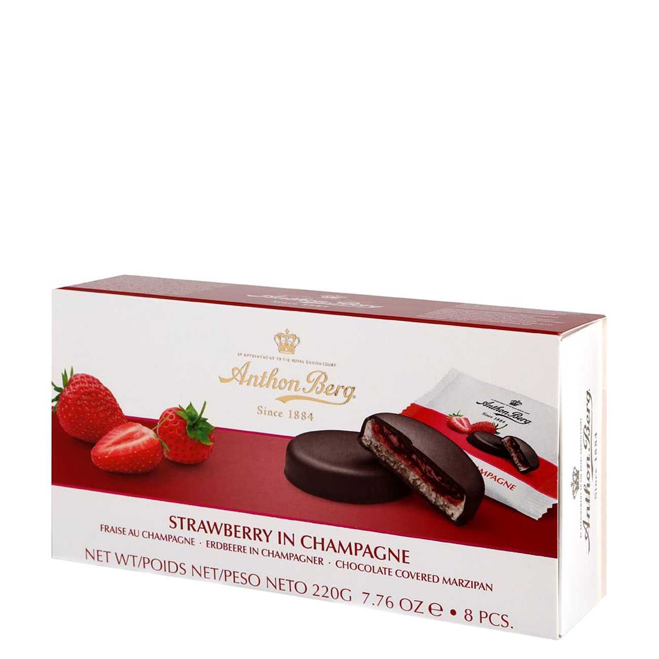 STRAWBERRY IN CHAMPAGNE 220 G
