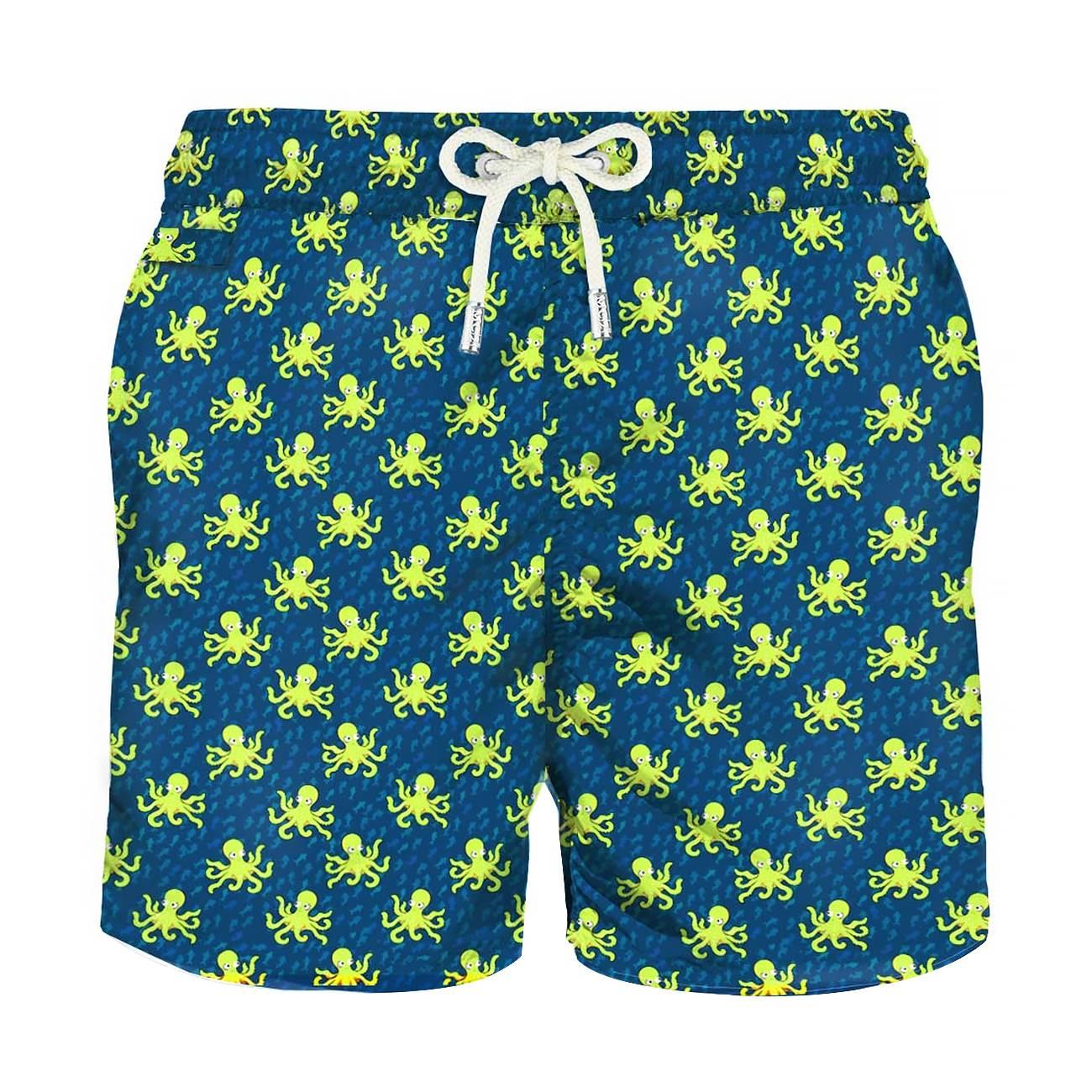 Micro Octopus Light Fabric Swim Shorts S imagine