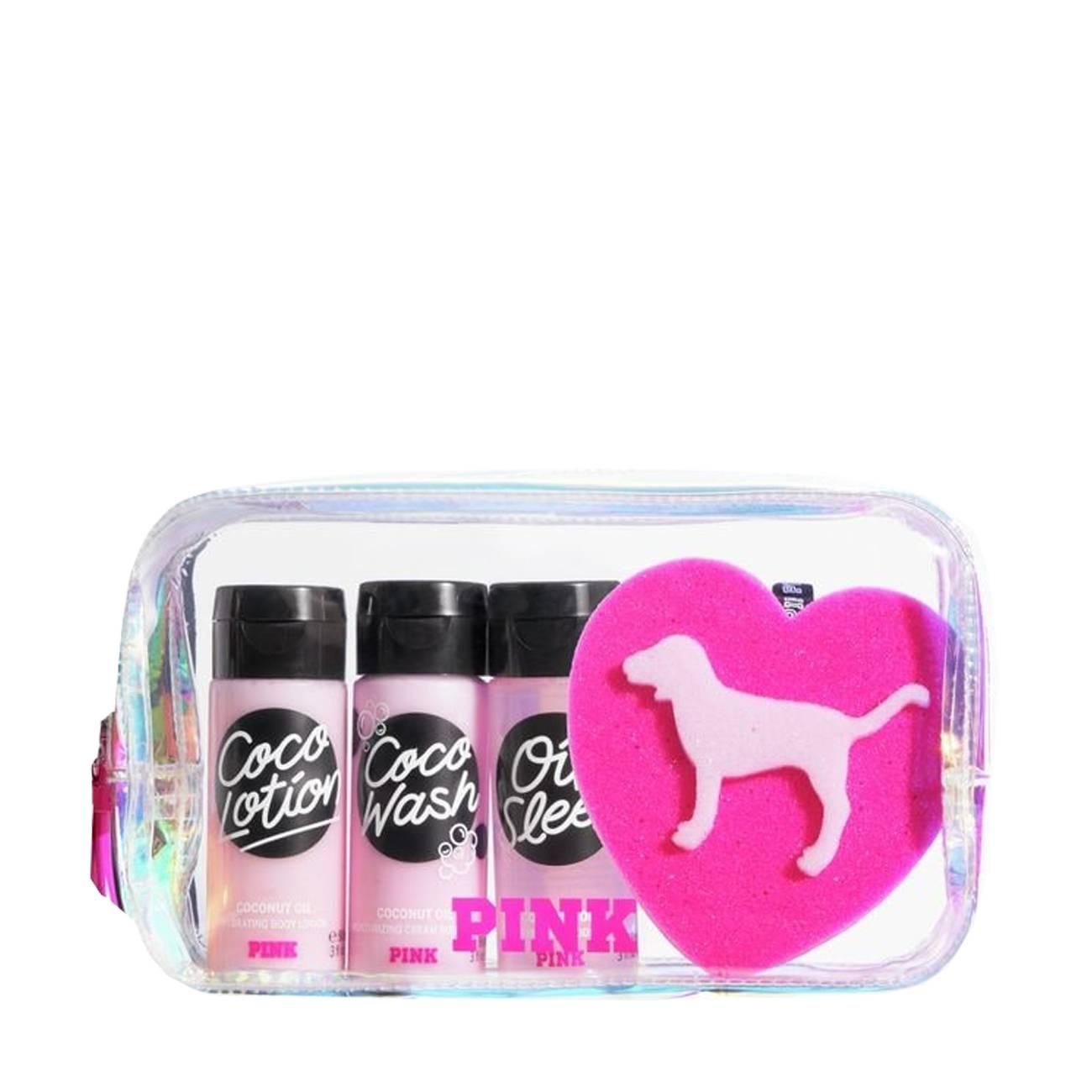 Pink Set 267 Ml Victoria's Secret imagine 2021 bestvalue.eu