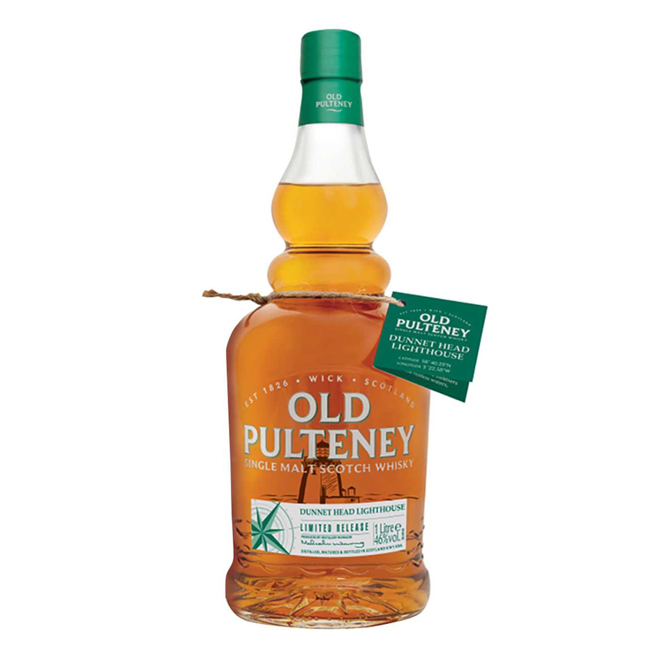 Whisky scotian, DUNNET HEAD LIGHTHOUSE 1000 ML, Old Pulteney