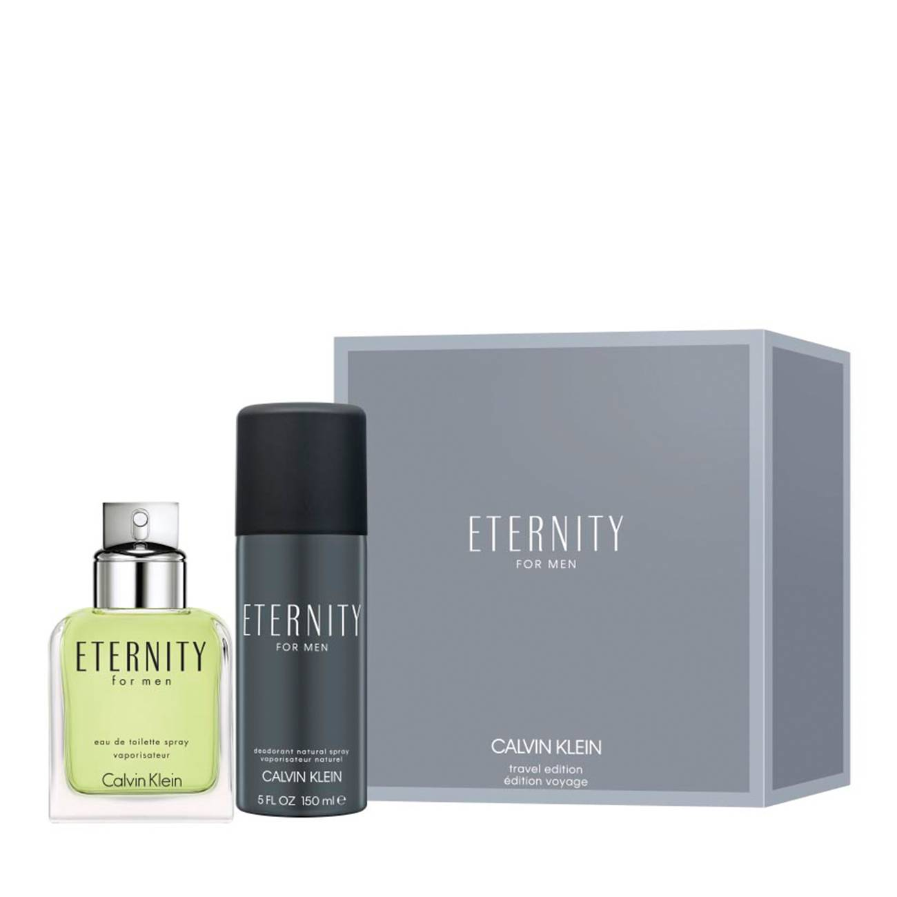 ETERNITY FOR MEN SET 250ml imagine