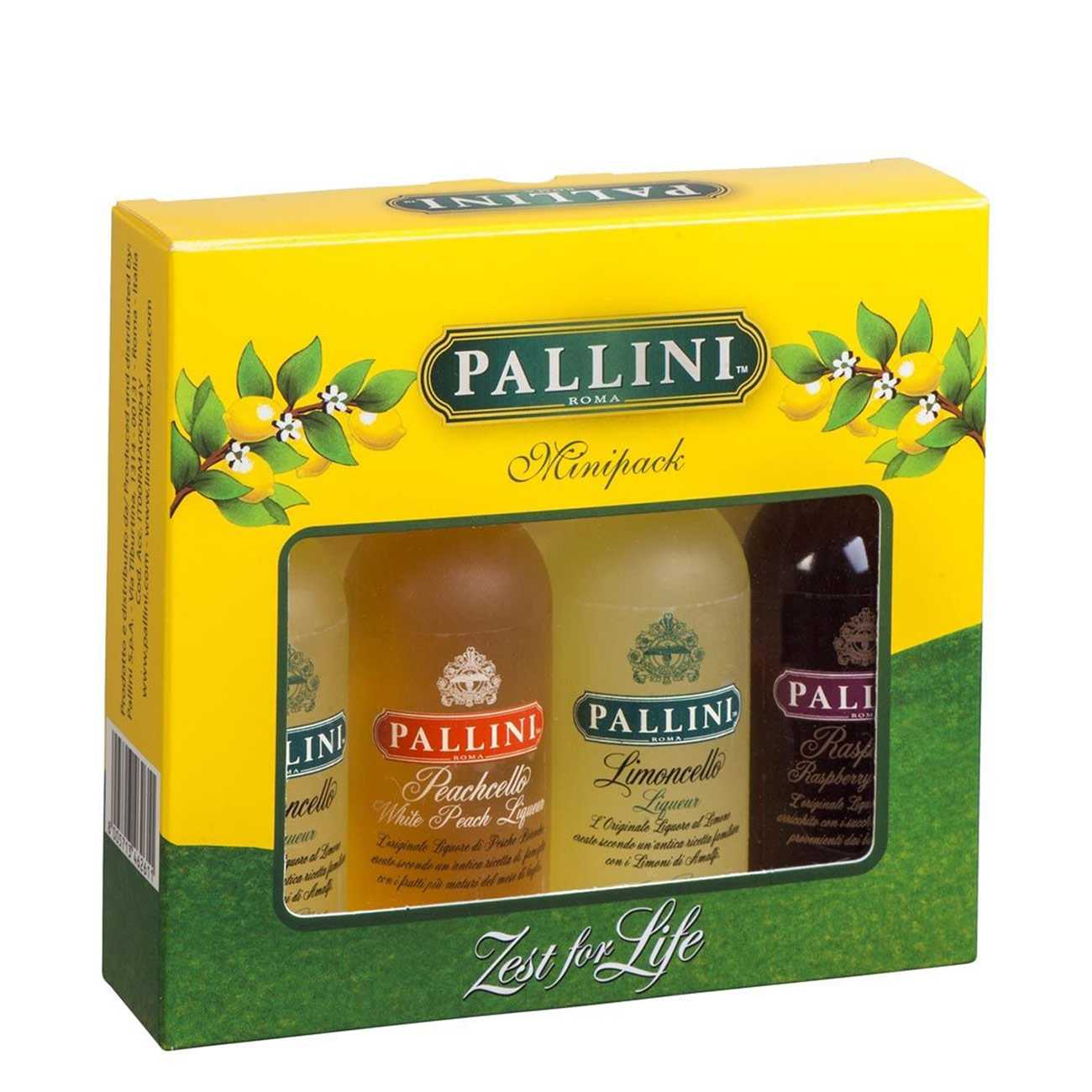 Lichior, PALLINI MINIPACK 200 ML, Pallini
