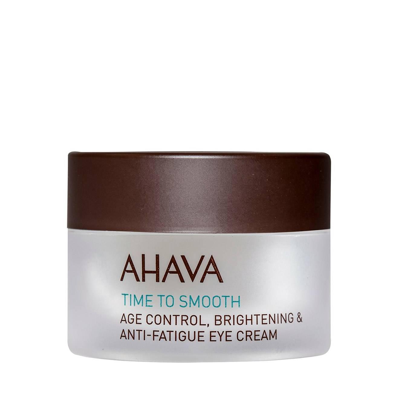 Time To Smooth Age Control Brightening & Anti-Fatigue 15 Ml Ahava imagine 2021 bestvalue.eu