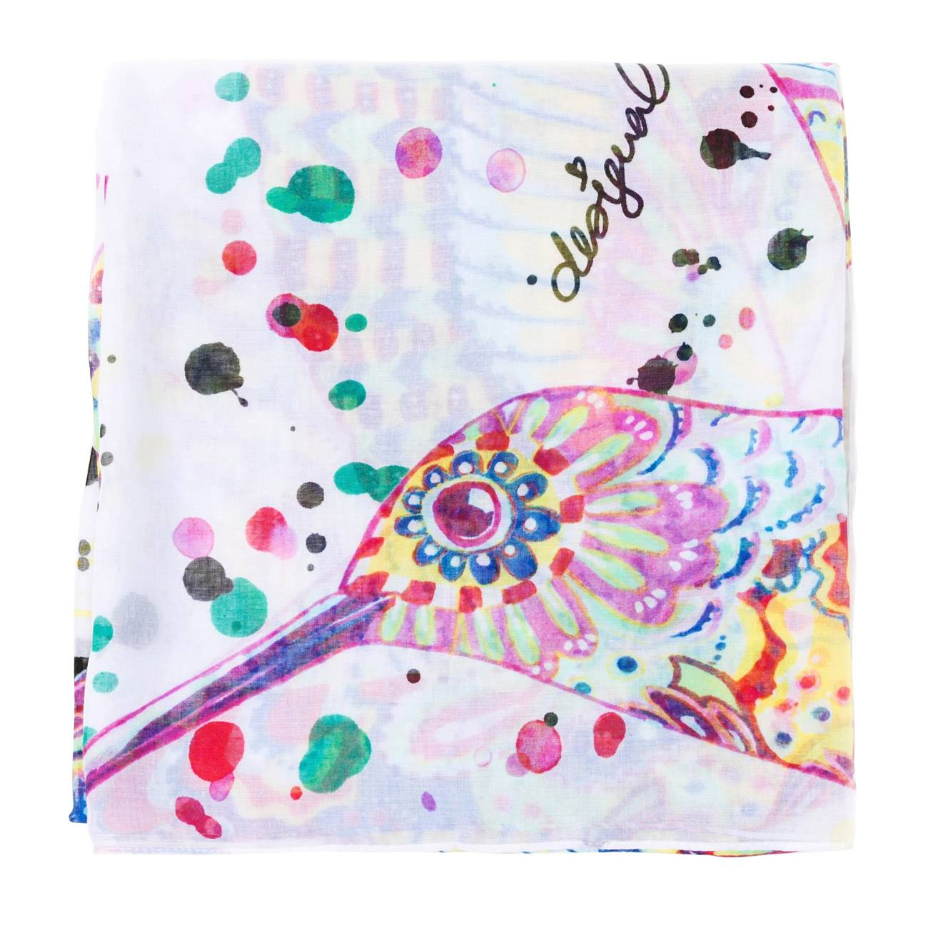 SCARF RECTANGLE SPLATTER 50 Grame