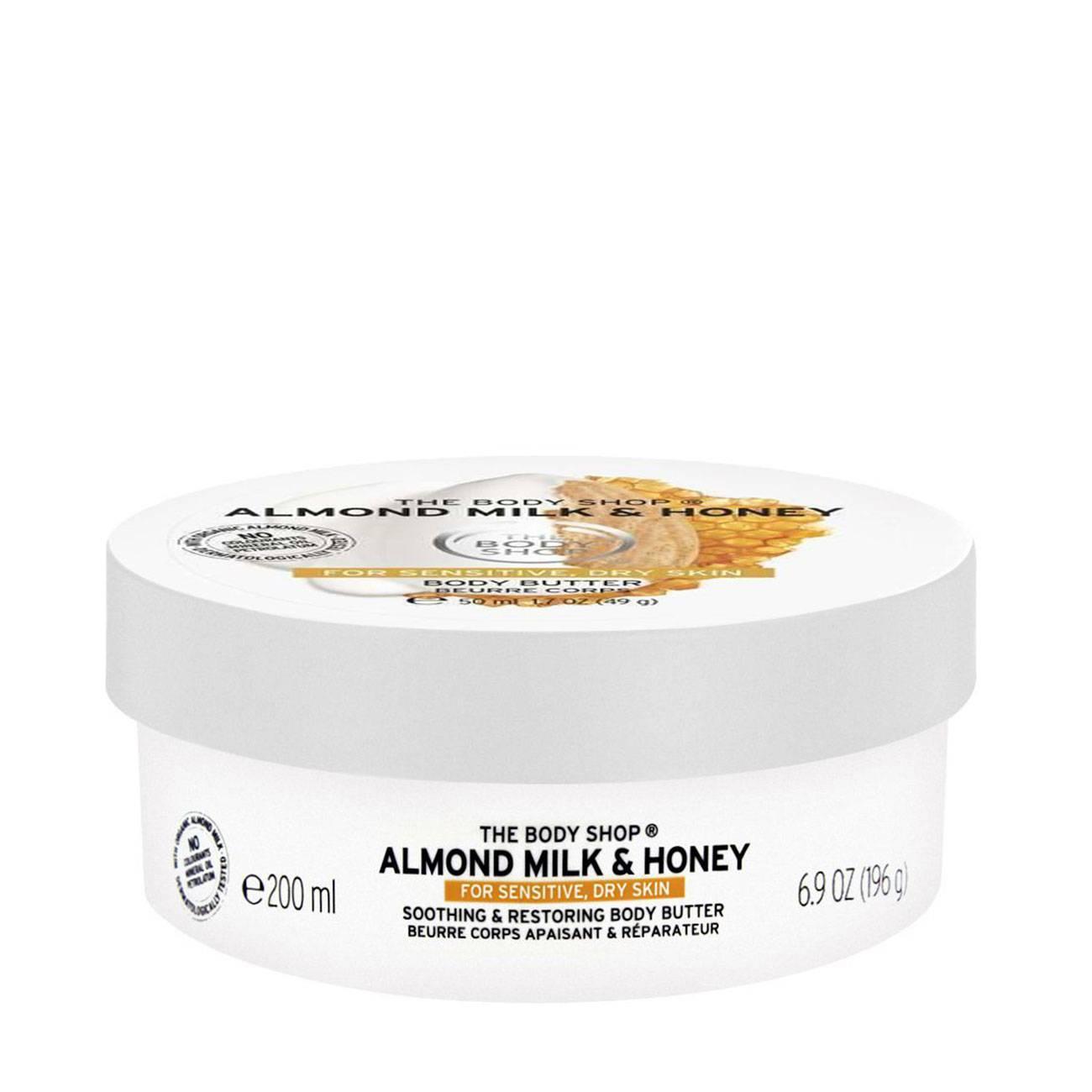 Almond Milk & Honey Body Butter 200ml imagine