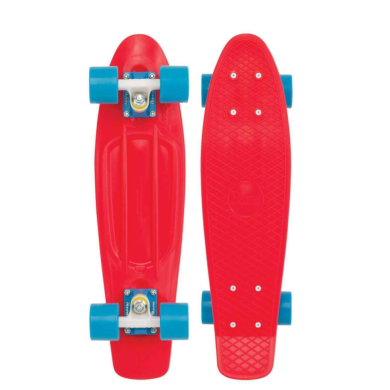 SKATEBOARD RED BLUE 27
