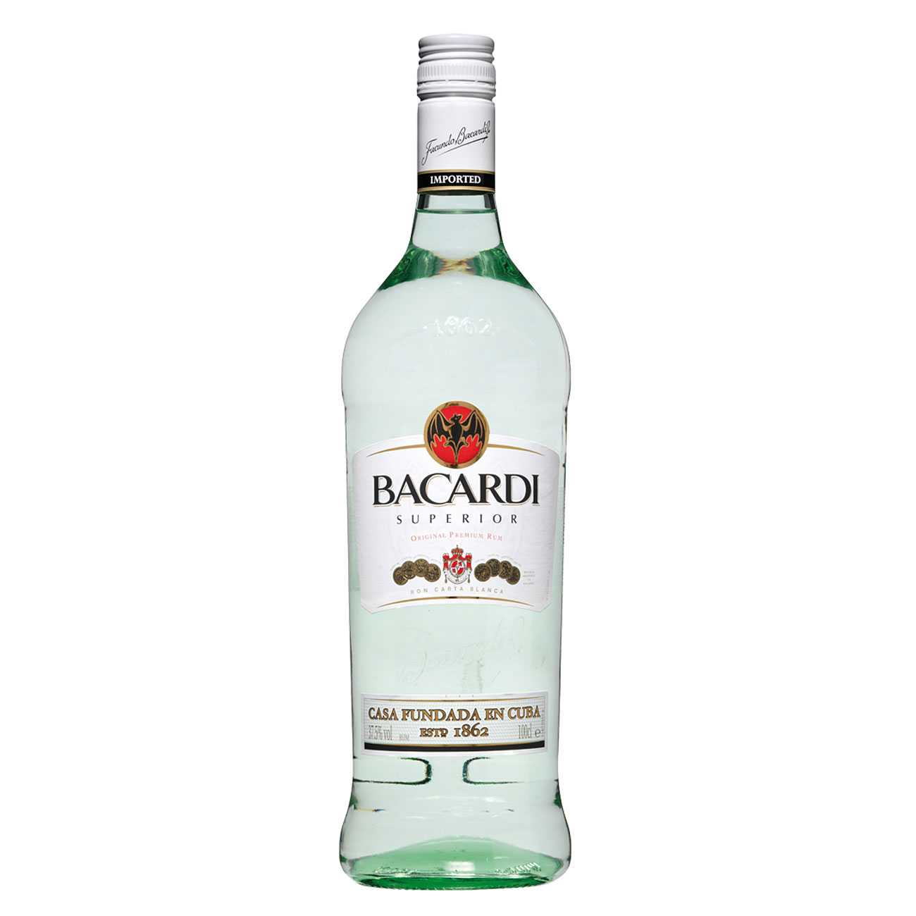 Rom, SUPERIOR 1500 ML, Bacardi