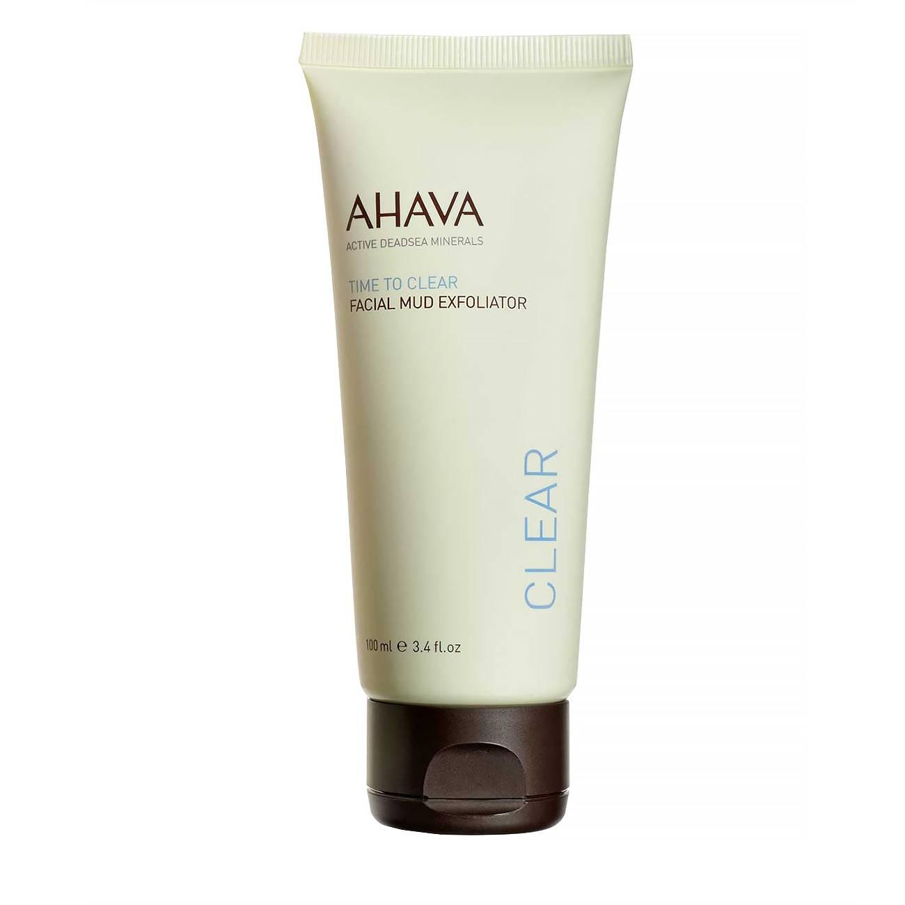 Time To Clear Facial Mud Exfoliator 100ml Ahava imagine 2021 bestvalue.eu