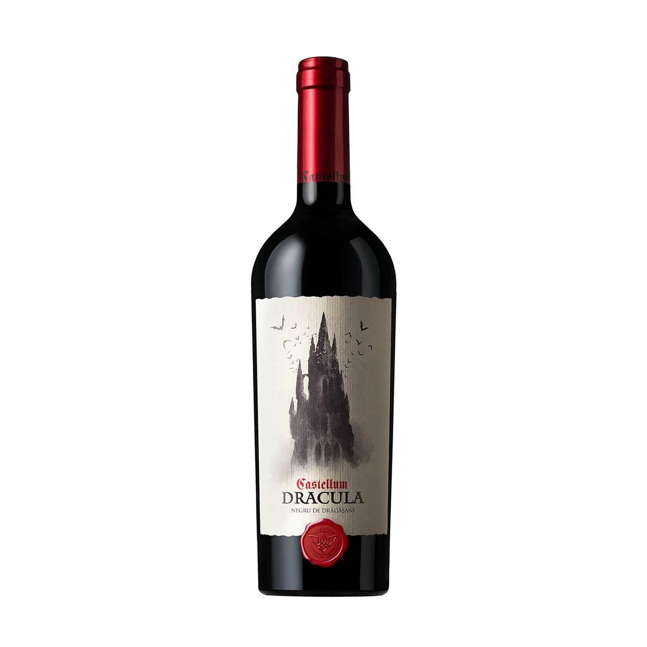 Vinuri, CASTELLUM DRACULA NEGRU DE DRAGASANI 750ml, Legendary Dracula