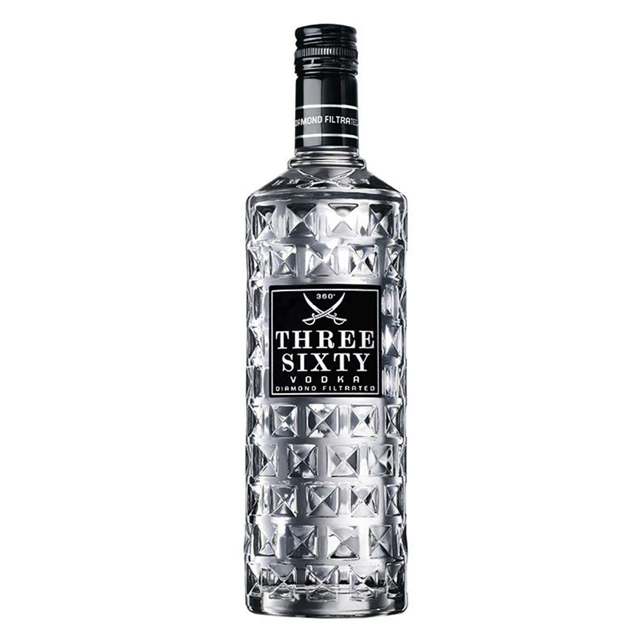 Vodka, THREE SIXTY 1000 ML, Three Sixty