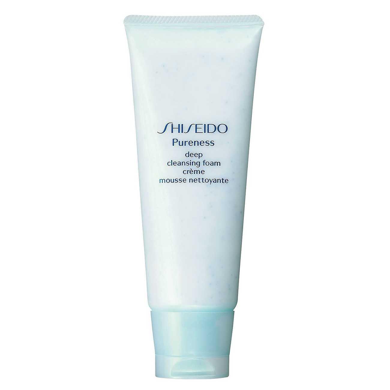 Pureness Deep Cleansing Foam 100 Ml Shiseido imagine 2021 bestvalue.eu