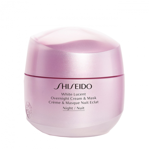 Shiseido WHITE LUCENT OVERNIGHT CREAM AND MASK Ingrijire Fata 75ml