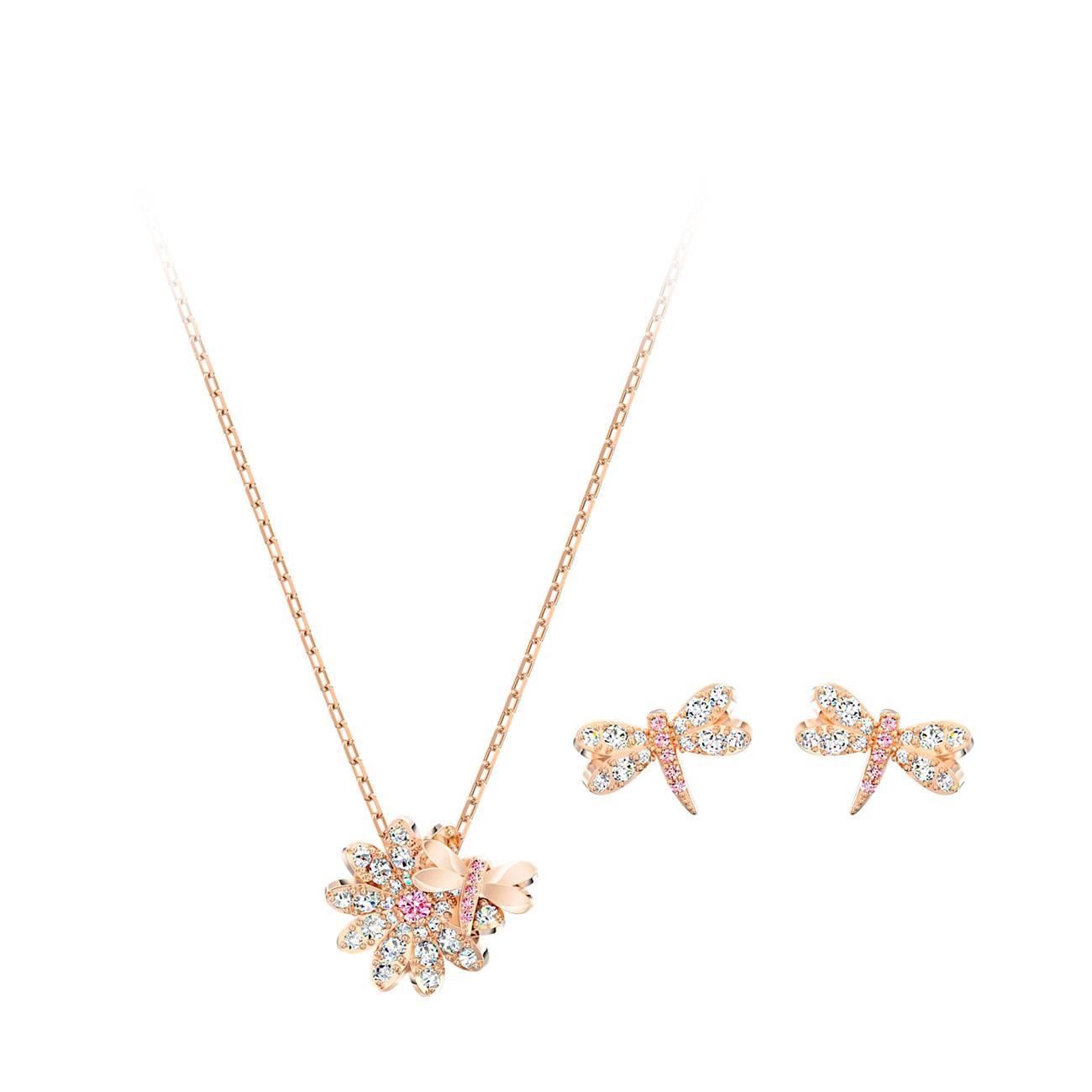 ETERNAL FLOWER DRAGONFLY SET 5518141 imagine produs
