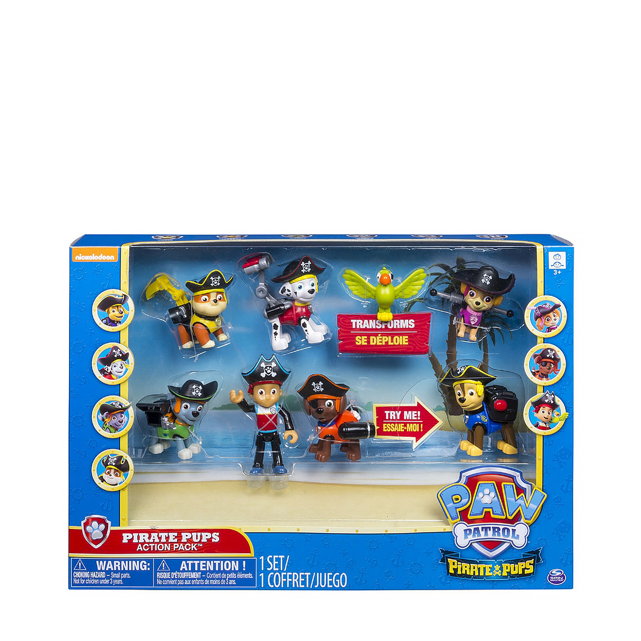 Pirate Pups Action Pack Gift Set