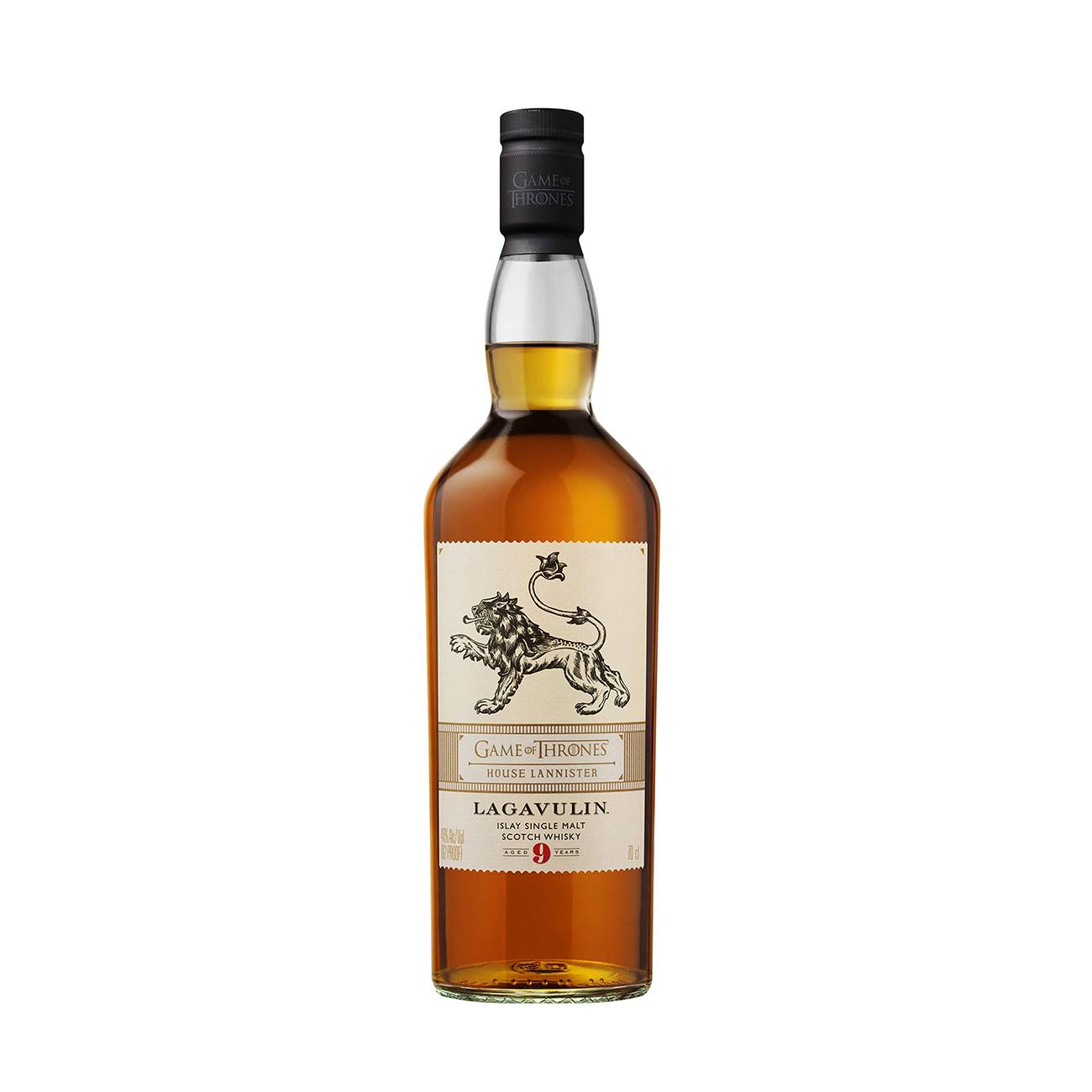GAME OF THRONES HOUSE - LAGAVULIN 9YO LANNNISTER GOT 700ml