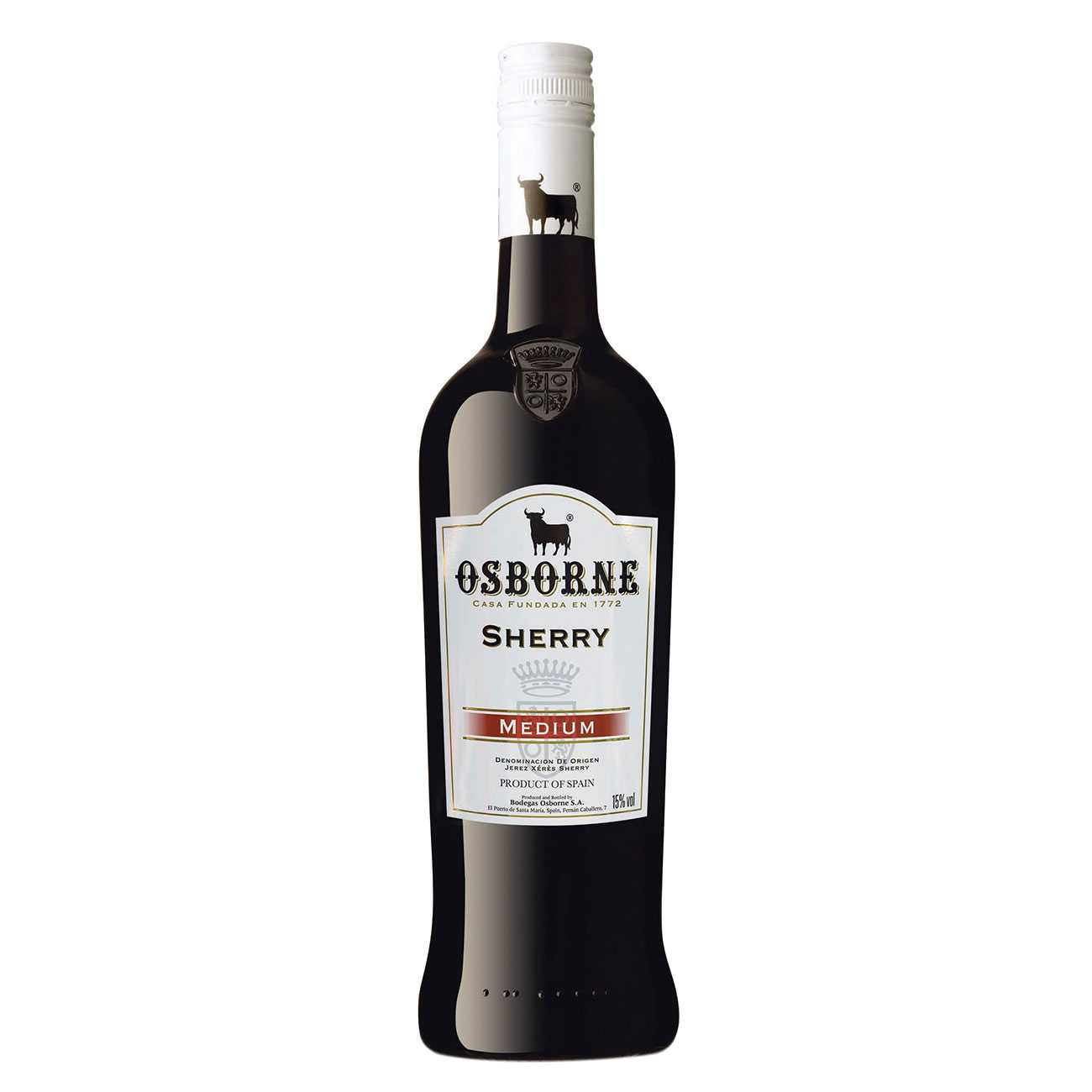 Brandy, MEDIUM DRY SHERRY 1000 ML, Osbourne