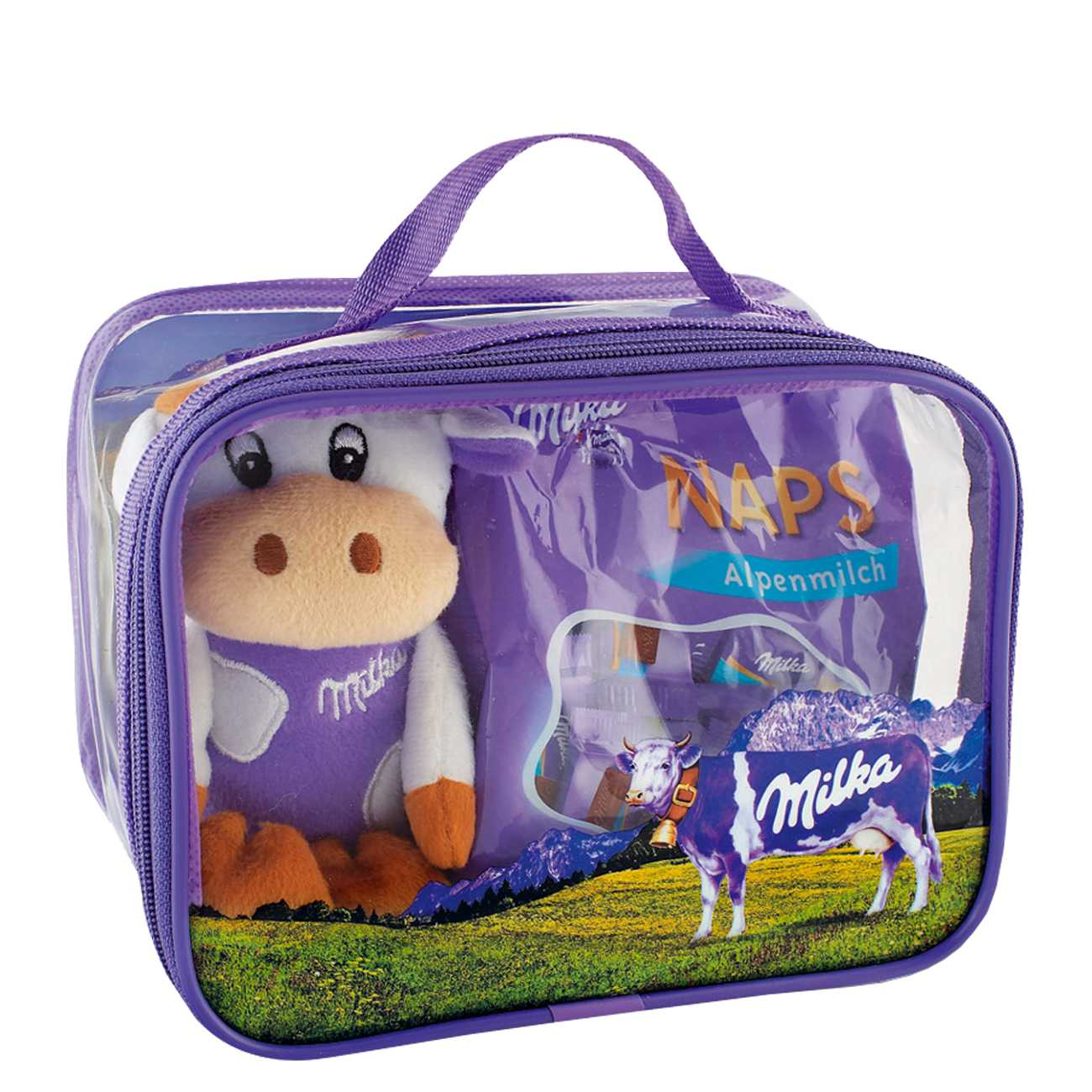 LUNCH BAG WITH MILKA COW 238 G