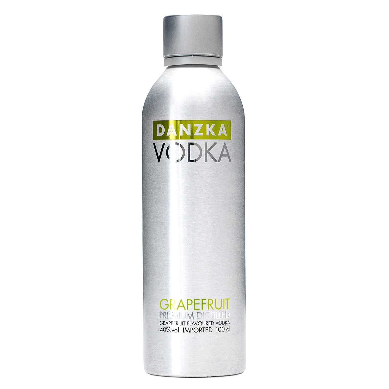 Vodka, GRAPEFRUIT 1000 ML, Danzka