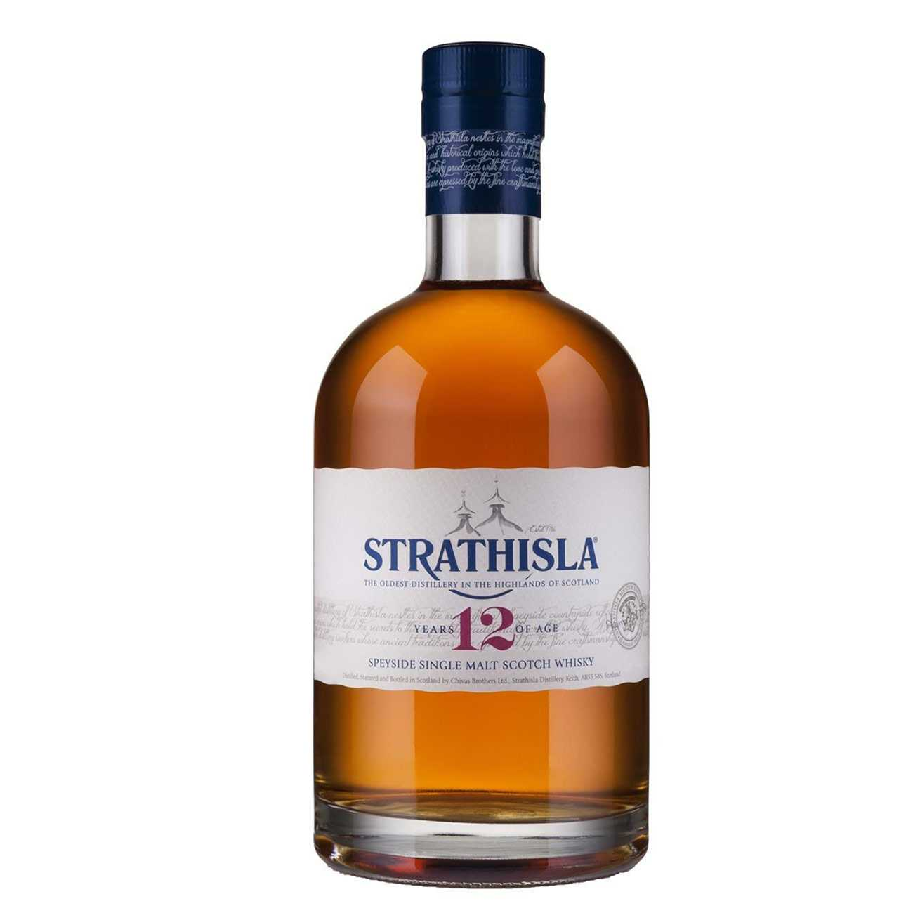 Whisky scotian, PURE HIGHLAND MALT SCOTCH 12 Y 1000 ML, Strathisla