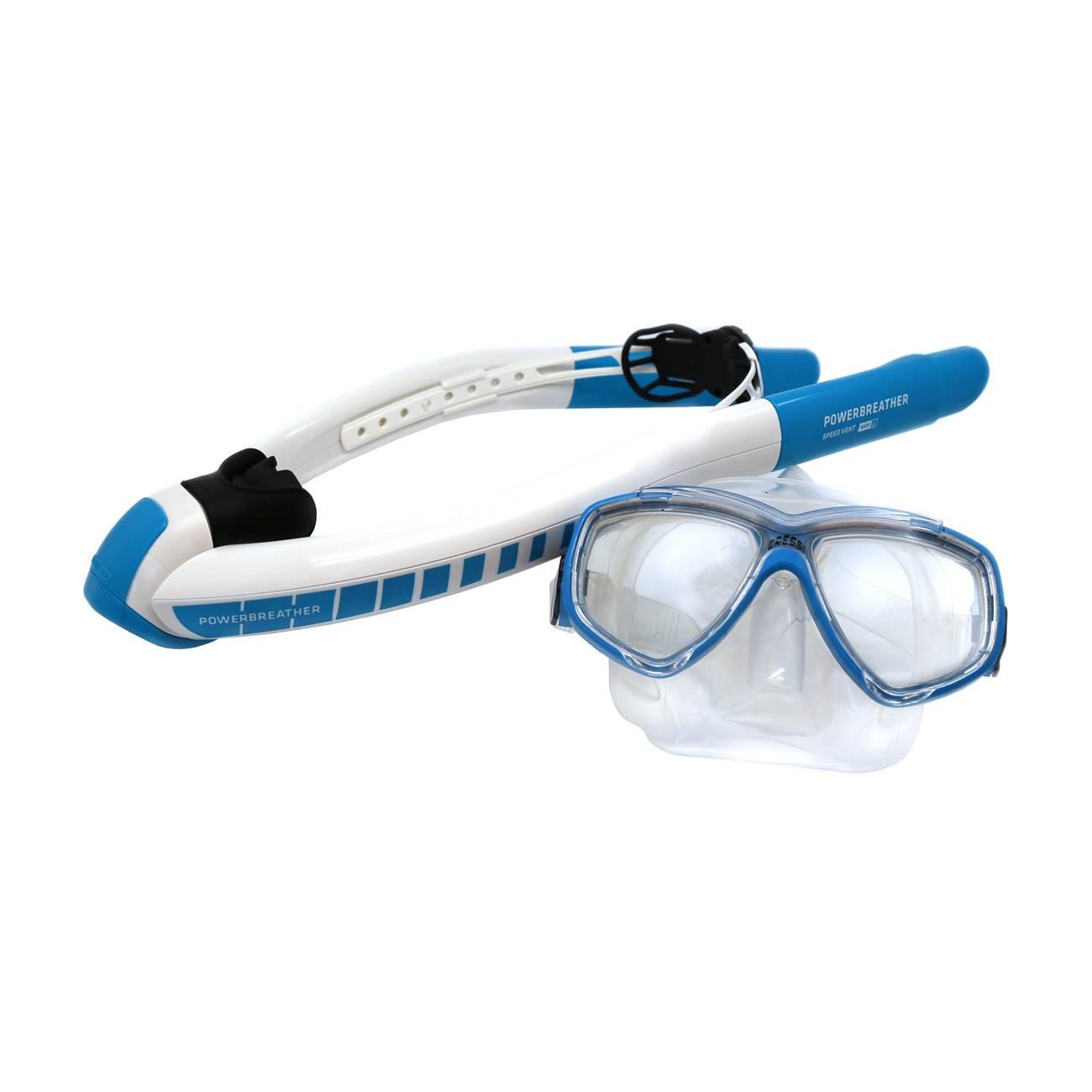 Powerbreather Beach Snorkel Set imagine