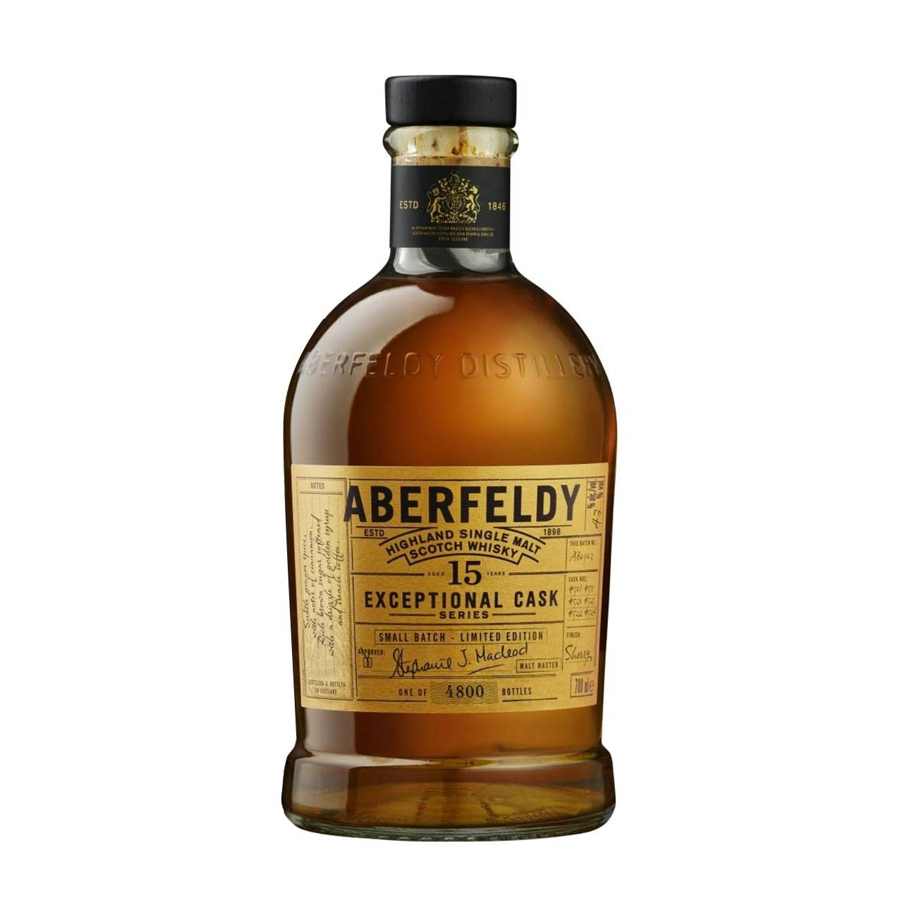 15 YO Exceptional Cask 700ml