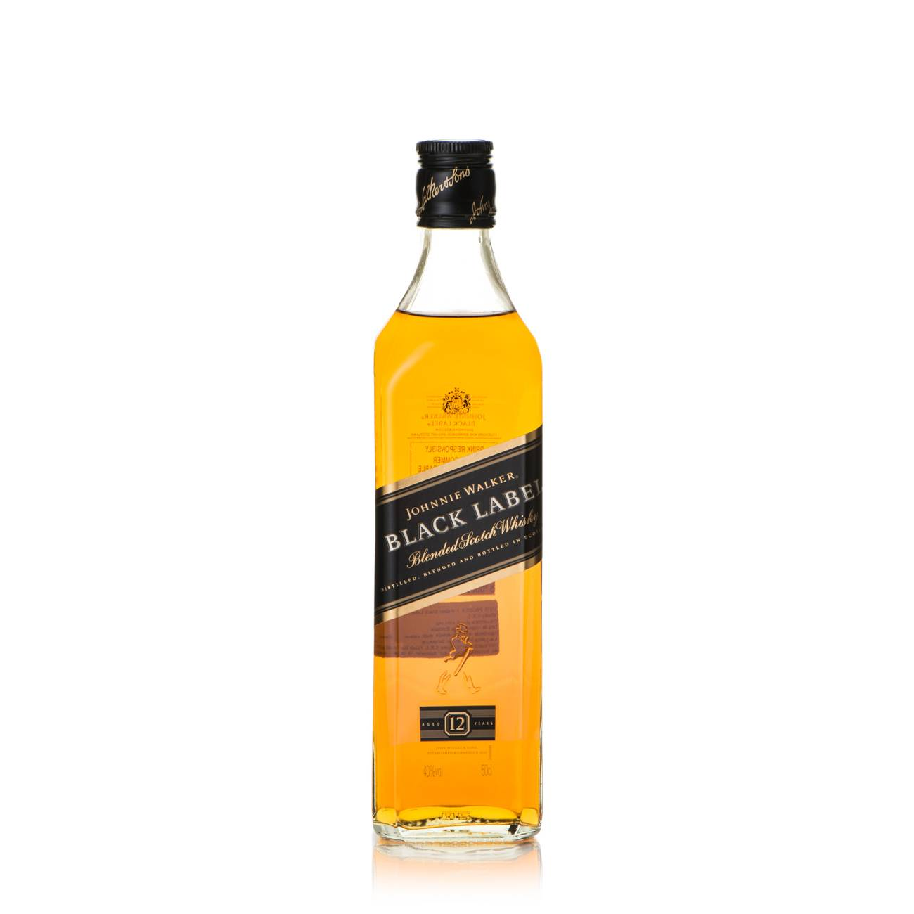 Whisky scotian, BLACK LABEL 500 Ml, Johnnie Walker