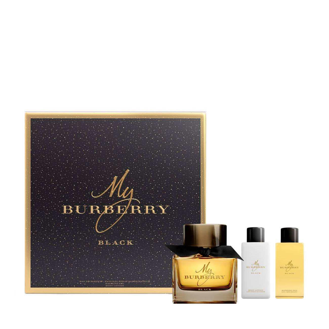 MY BURBERRY BLACK SET 240ml imagine produs