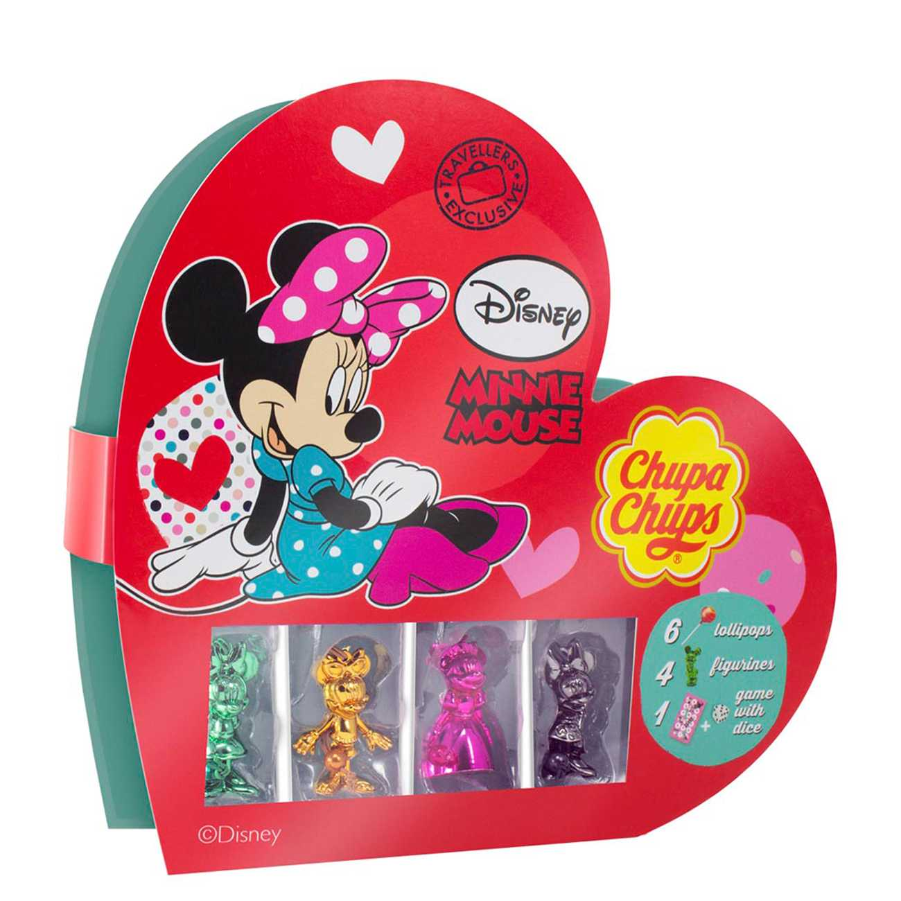 MINNIE MOUSE HEART 72 G
