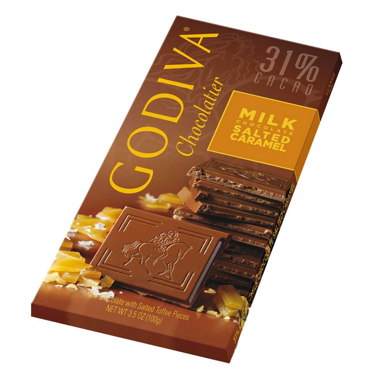 MILK CHOCOLATE SALTED CARAMEL 100 G