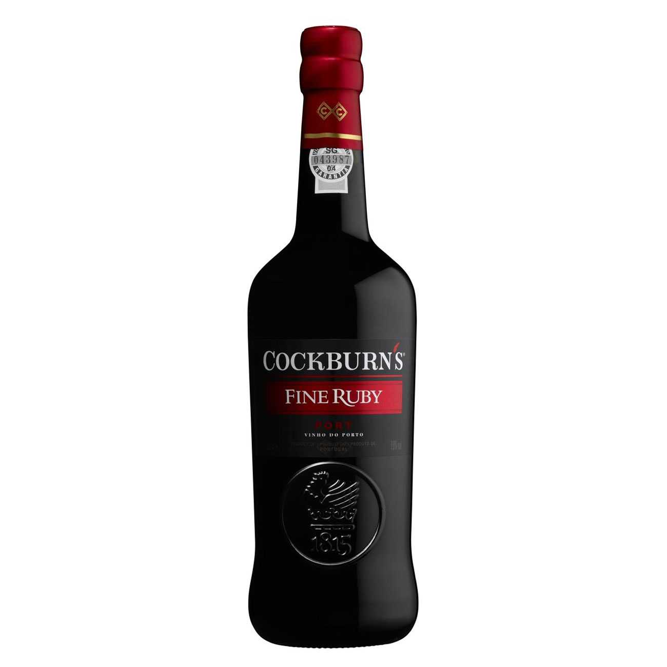 Lichior, FINE RUBY 1000 ML, Cockburn