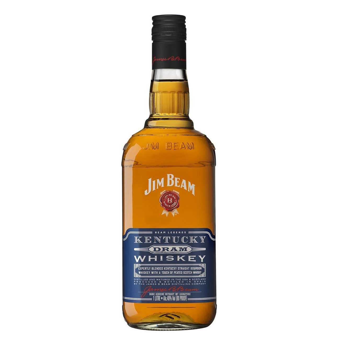 Whiskey american, KENTUCKY DRAM 1000 ML, Jim Beam