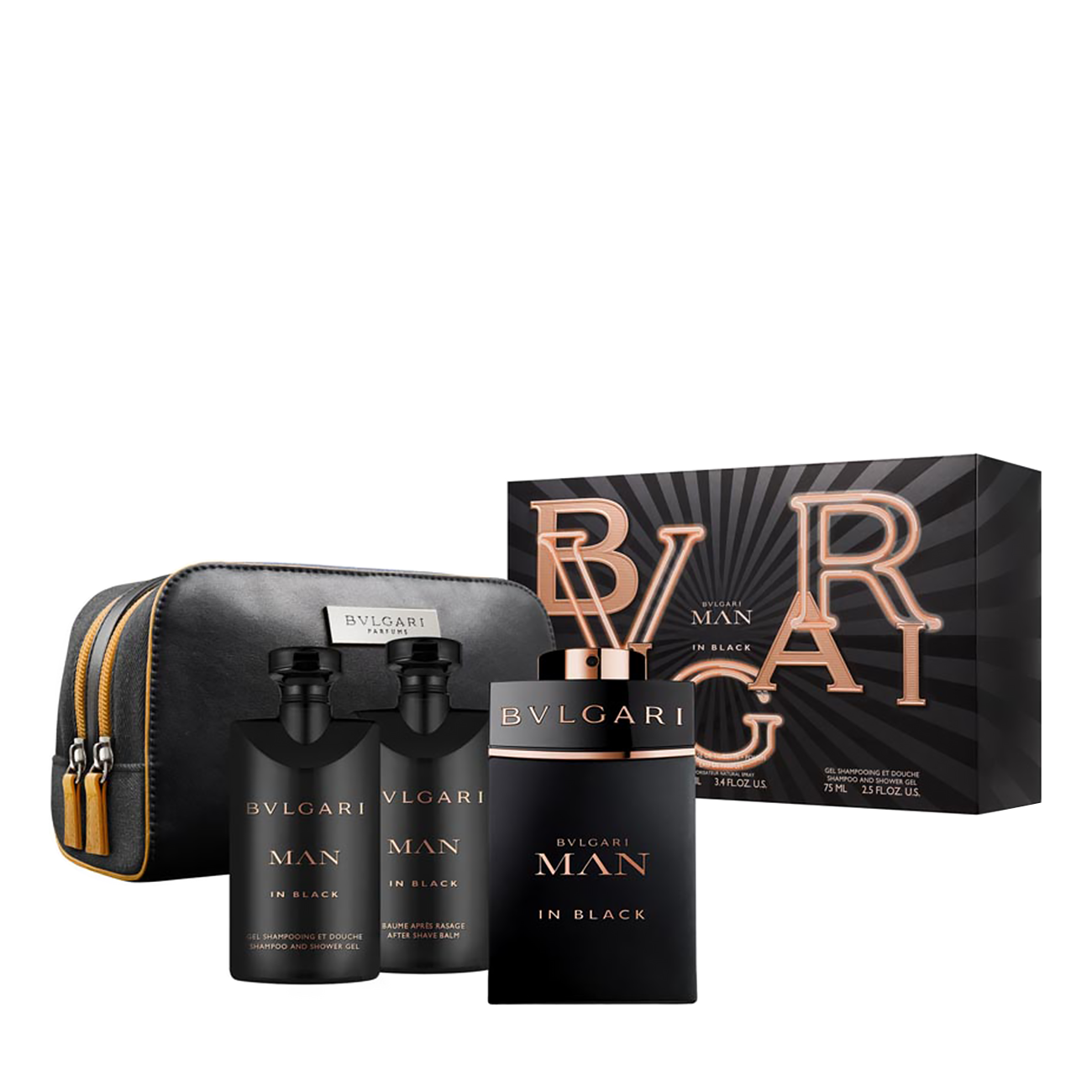 MAN IN BLACK SET 250ml poza