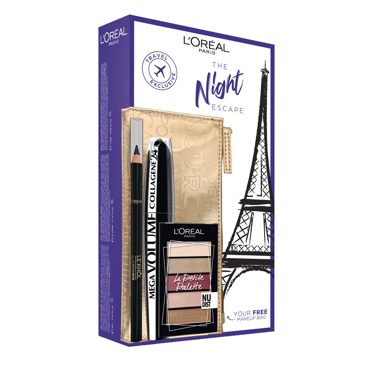 LOOK ON THE GO THE NIGHT ESCAPE SET imagine produs
