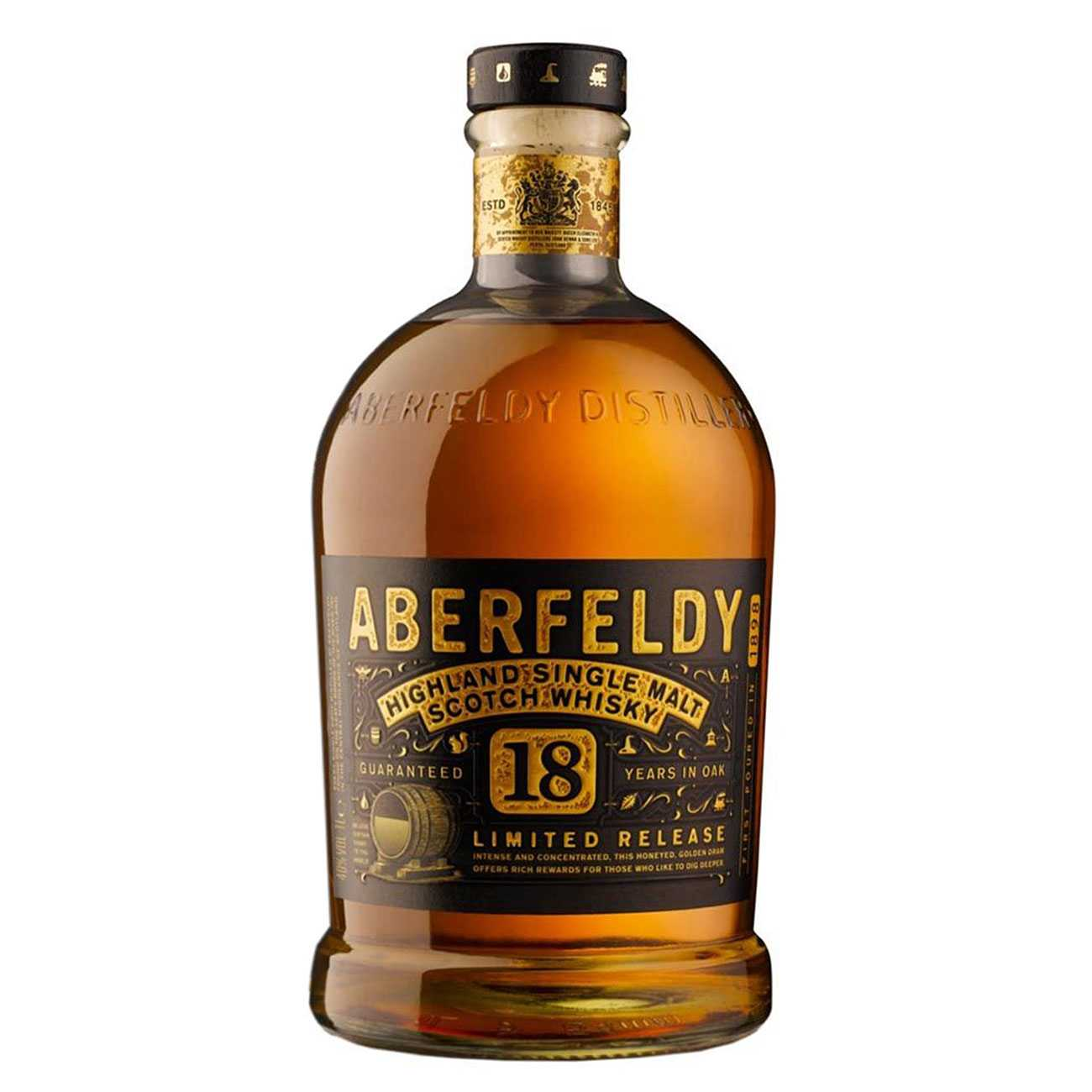 Whisky scotian, 18 YO GIFTPACK 1000 ML, Aberfeldy