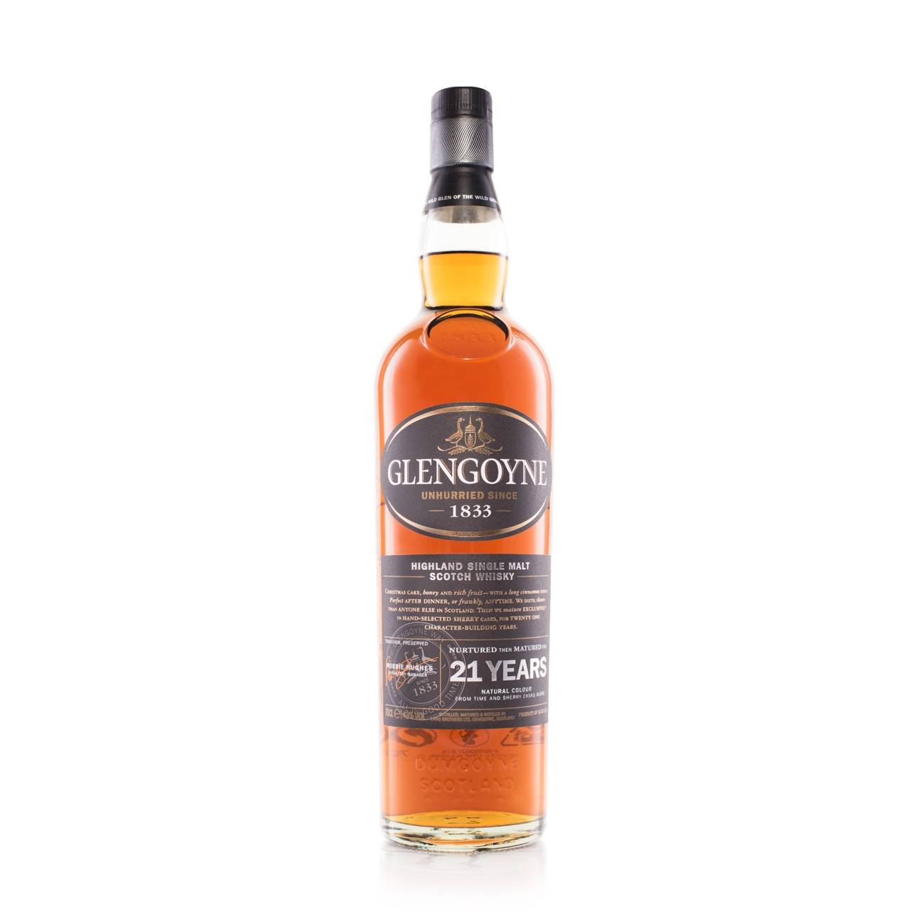 Whisky scotian, GLENGOYNE WHISKY MALT 21Y GIFTBOX 700 ML, Bowmore