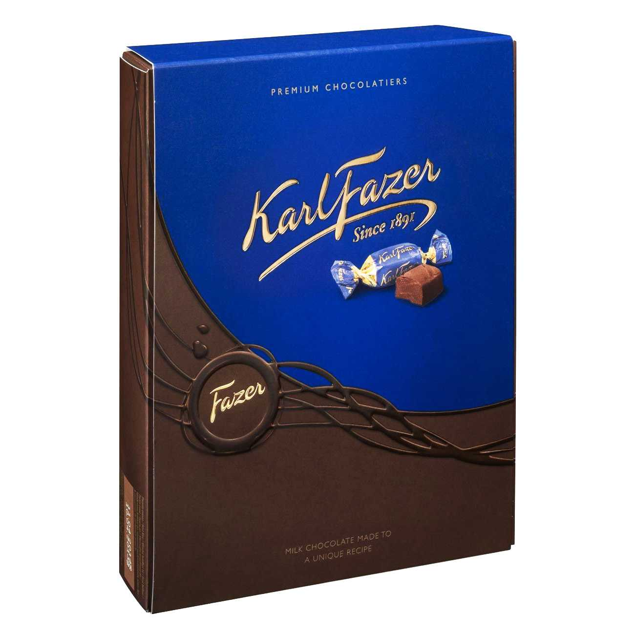 KARL FAZER MILK CHOCOLATE 295 G