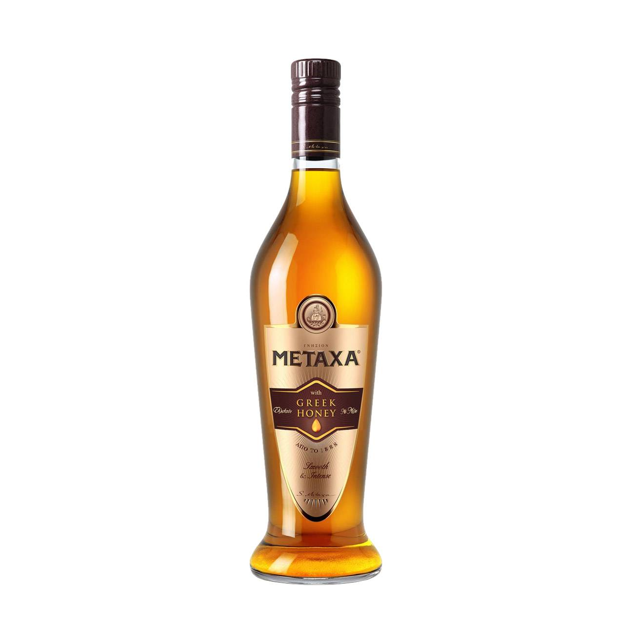 Brandy, GREEK HONEY 700 ML, Metaxa