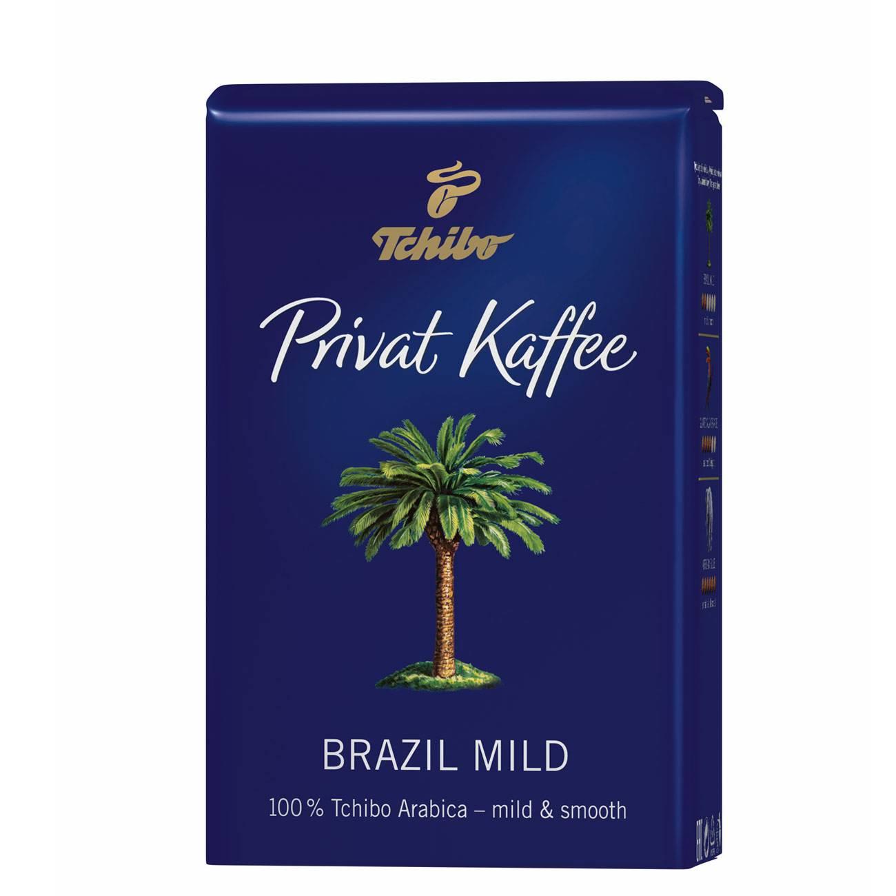 PRIVAT KAFFEE BRASIL MILD BEANS 500gr
