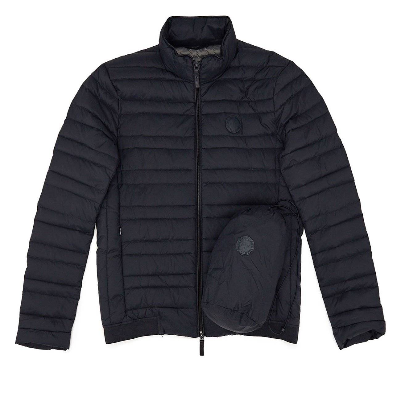 Jacket With Real Feather Padding M