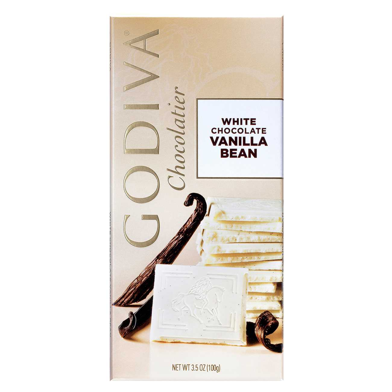 WHITE CHOCOLATE VANILLA BEAN 100 G