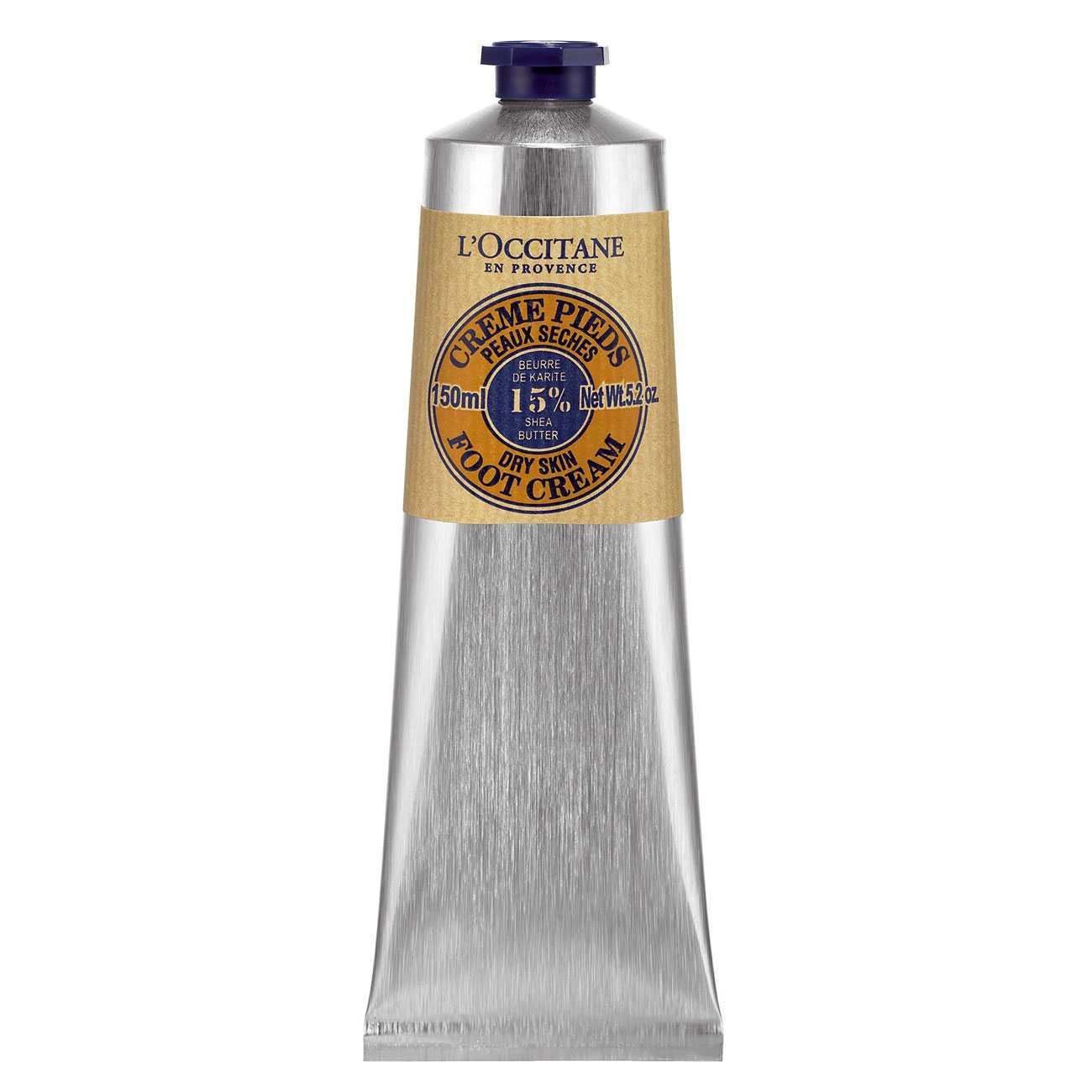 Shea Butter Foot Cream 150 Ml L`Occitane en Provence imagine 2021 bestvalue.eu