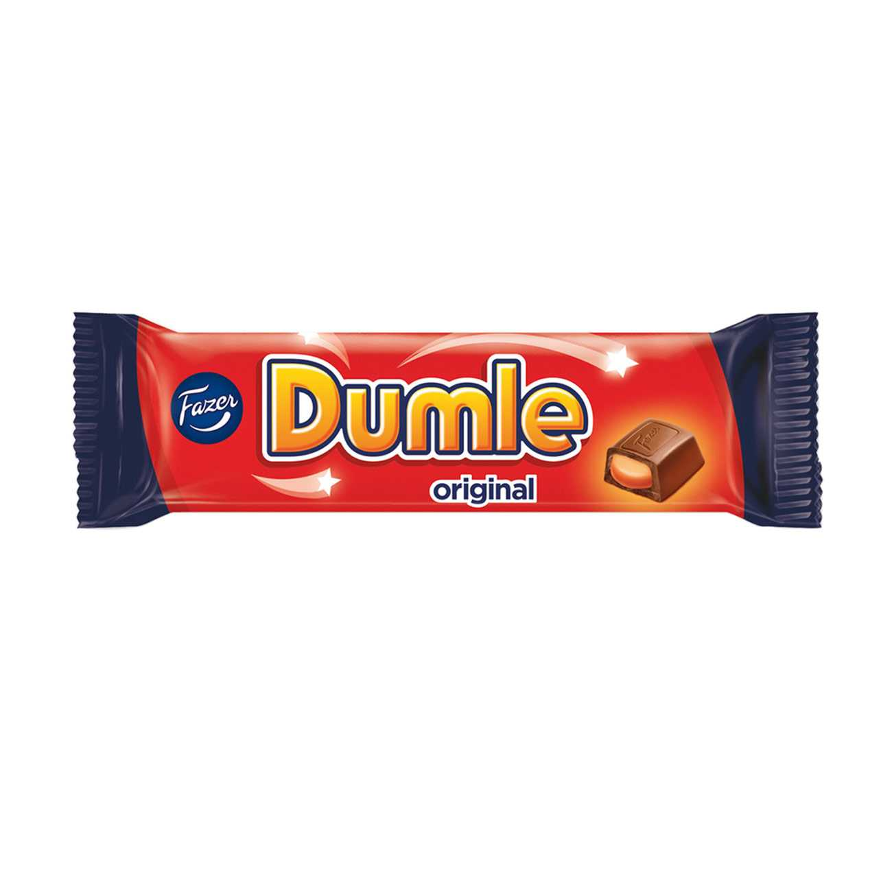 DUMLE MILKCHOCOLATE WITH TOFFEE FILLING 40 G
