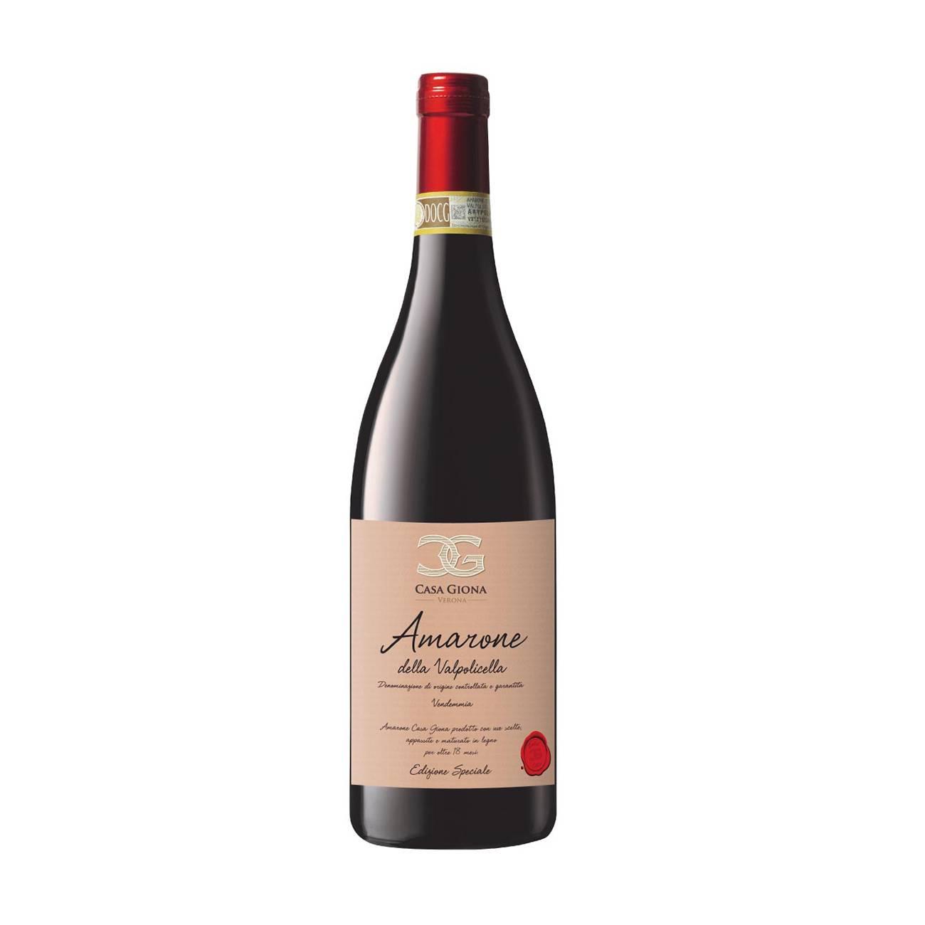 Amarone Della Valpolicella de la Casa Giona