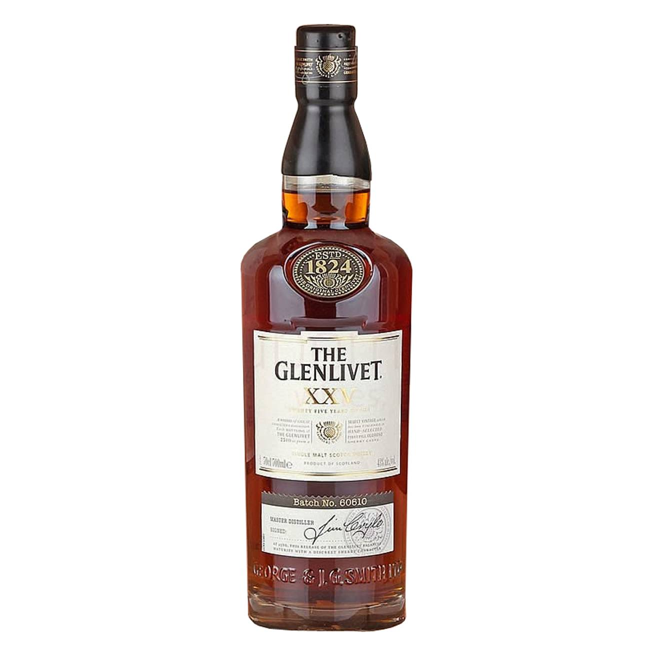 Whisky scotian, XXV 700ml, The Glenlivet
