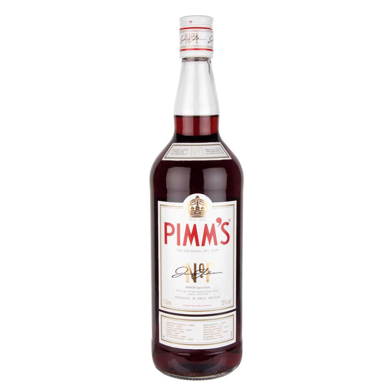 Lichior, CUP NO.1 1000 ML, Pimm's